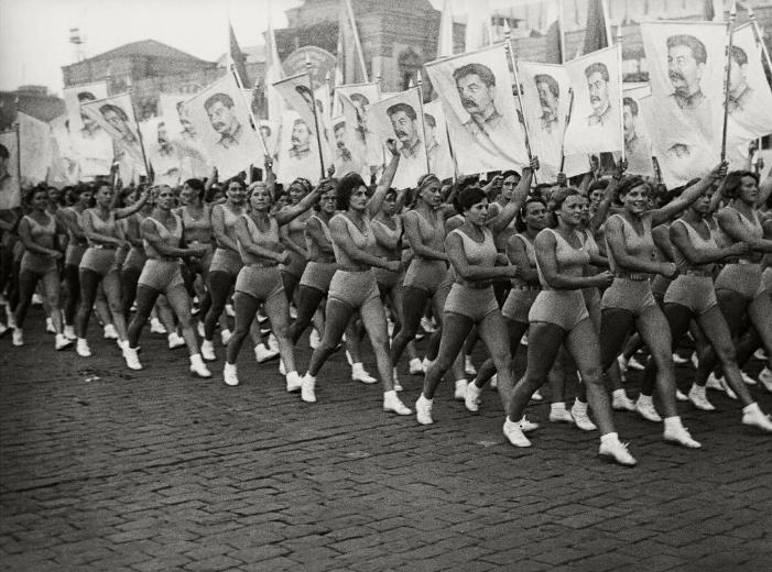 5 августа 1931 года в Физкультурном параде на Красной площади приняли участие 40 тысяч человек.