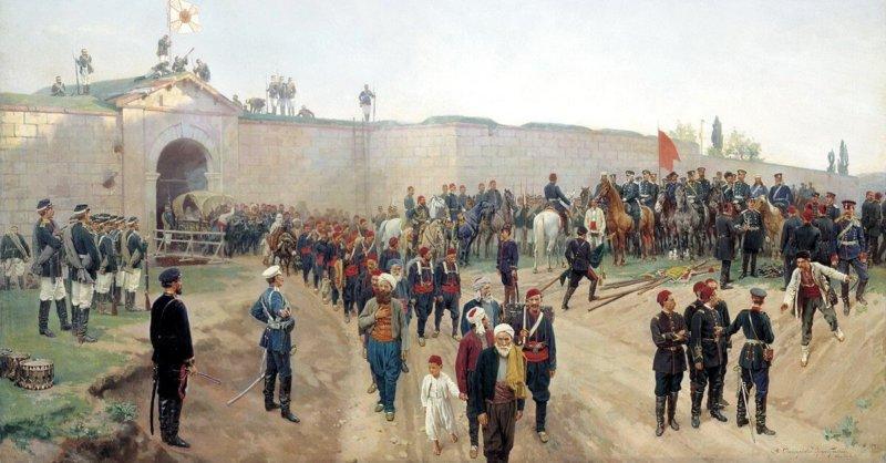 6 июля 1877 года в ходе русско-турецкой войны 18771878 гг русские войска взяли первую крупную турецкую крепость Никополь