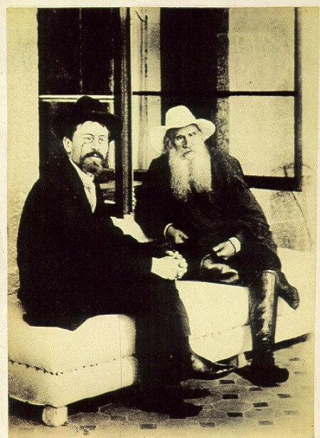 Чехов и  Л.Толстой-12 сентября 1901 года