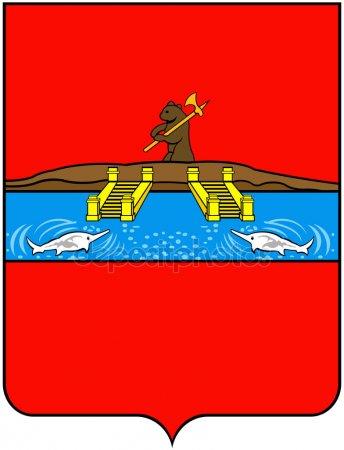 Город Рыбинск. Герб 1778 года