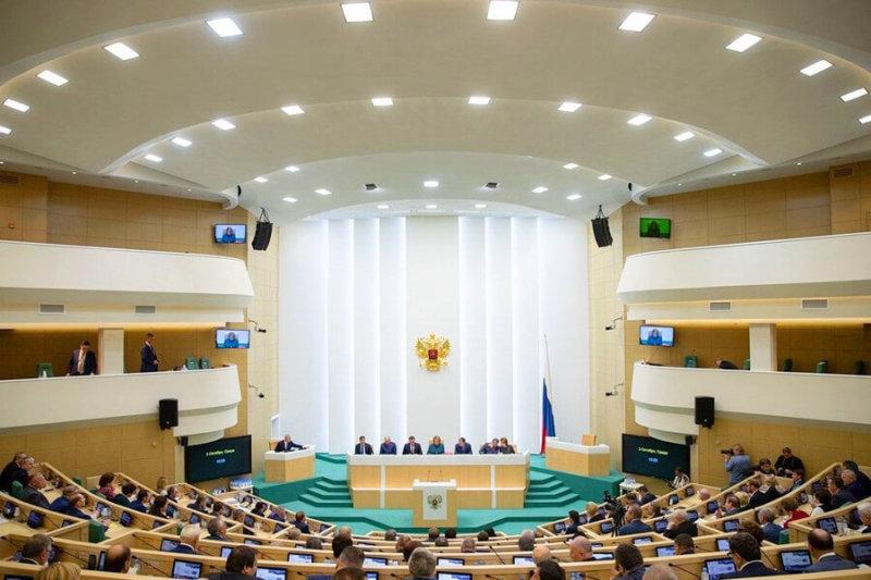 Подведены итоги весенней сессии Совета Федерации 2019