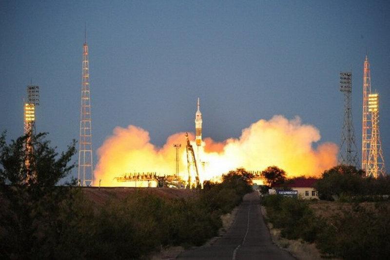 Произведен запуск ракеты