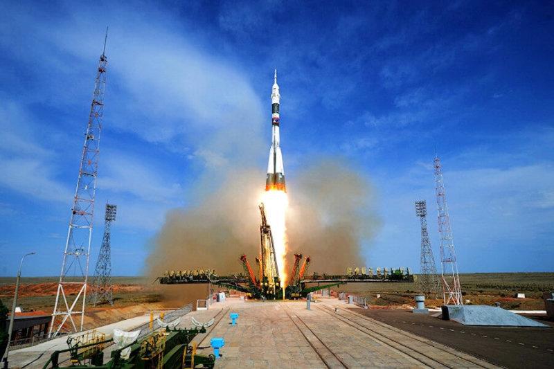 Ракета-носитель Союз-ФГ стартовала с Байконура