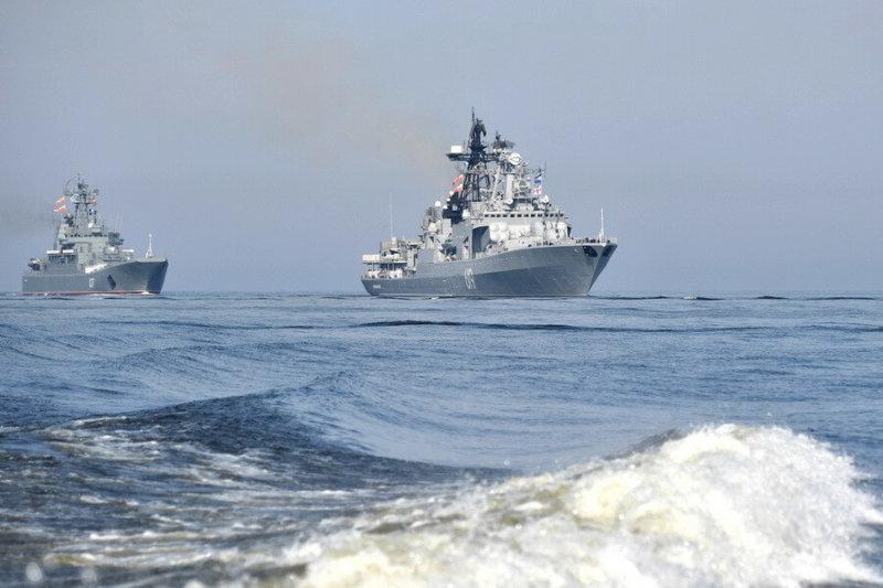 Состоялся главный военно-морской парад 2019