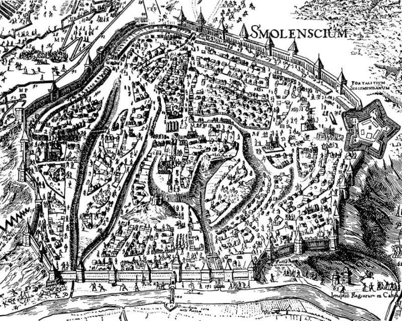 В 1513 году «29 июля началась осада Смоленска» Василием III (Соловьев) – и город перешел от польского короля к Москве