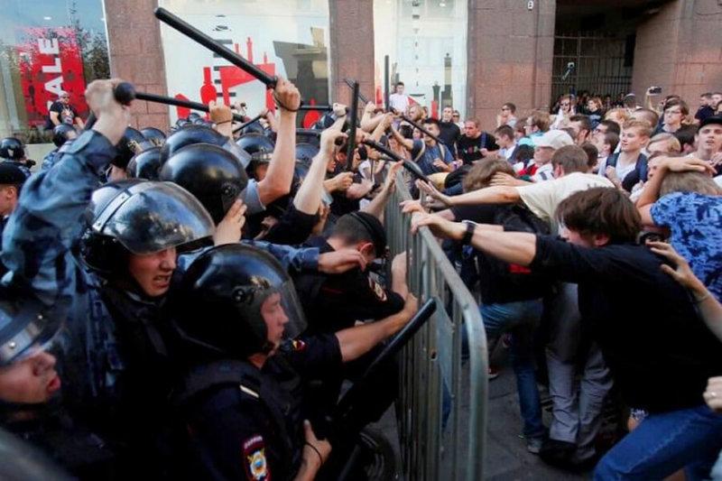 В Москве прошла несанкционированная акция за свободные выборы