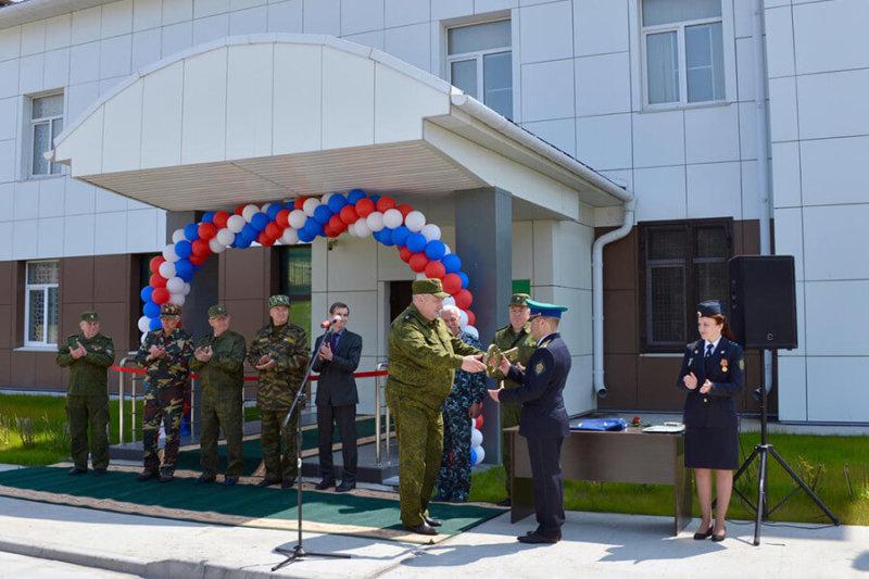 В Северо-Курильске открылся новый пограничный комплекс