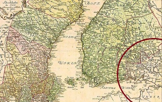 18 августа 1743 года в Або (ныне финский Турку) заключен мирный договор со Швецией – часть Финляндии отошла России.