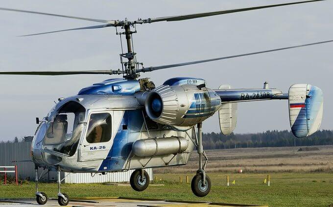 18 августа 1965 года состоялся первый полет вертолета Ка-26.