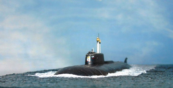 18 августа 1994 года подводная лодка К-186