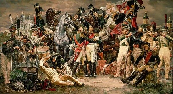 1812 - После двухдневных ожесточенных боев русская армия оставила Смоленск.