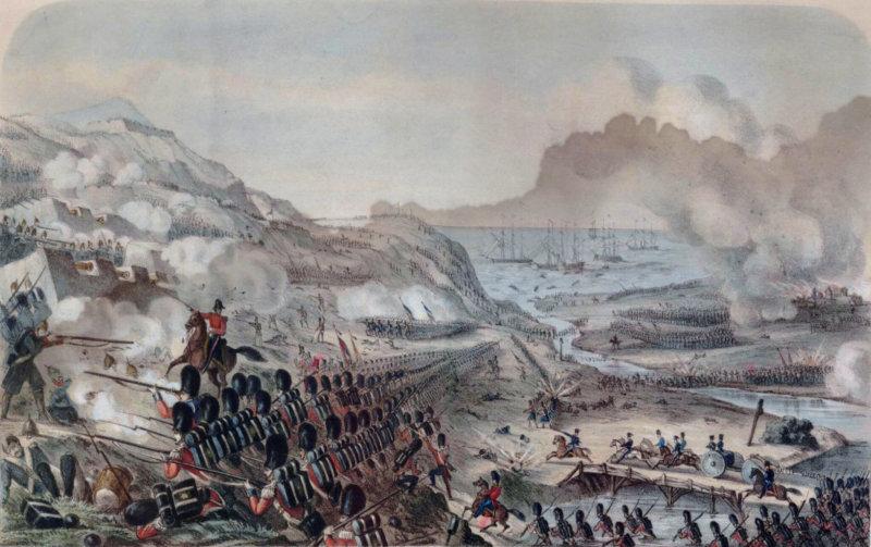 1854 - Состоялось героическое сражение на реке Альме.