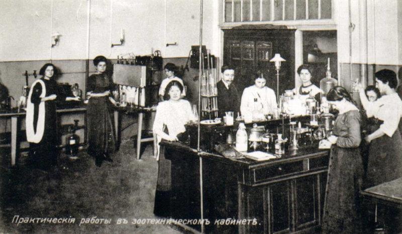 1904 - Открылись женские сельскохозяйственные курсы.