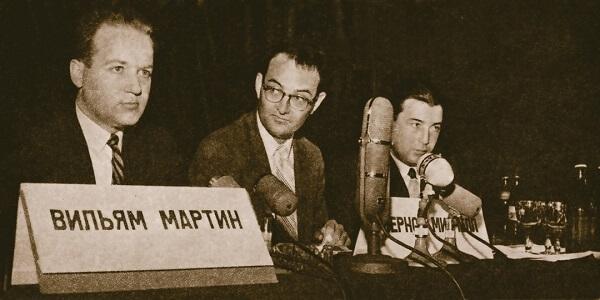 1960 - В Центральном доме журналиста в Москве прошла скандальная пресс-конференция двух сотрудников Агентства национальной безопасности (АНБ) США, сбежавших в СССР.