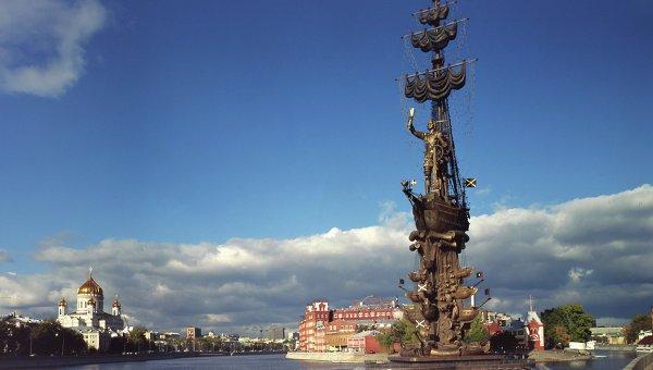 1997 - В дни празднования 850-летия Москвы был воздвигнут и открыт по заказу Правительства Москвы памятник Петру Великому