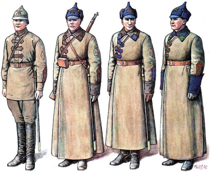 6 сентября 1920 г. войска ВОХР, а также части обороны железных дорог, железнодорожная и водная милиция и т.д. были объединены в войска внутренней стражи Республики (войска ВНУС)
