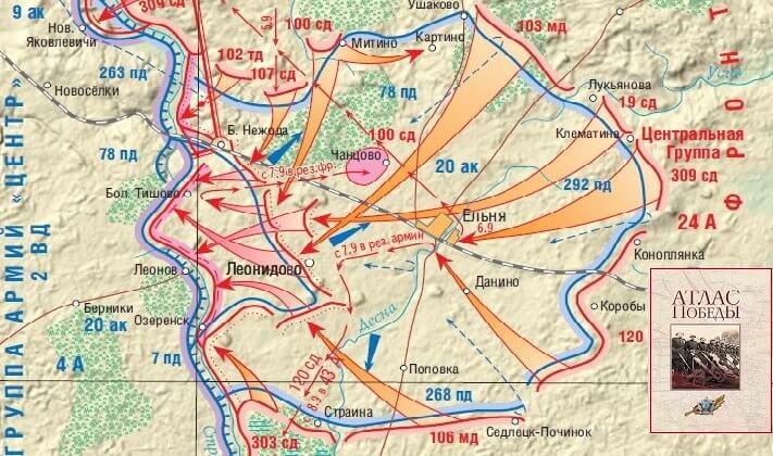 6 сентября 1941 года освобождение города Ельня