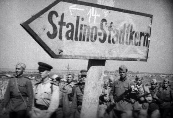 6 сентября 1943 года наши войска освободили свыше 100 населенных пунктов Донбасса