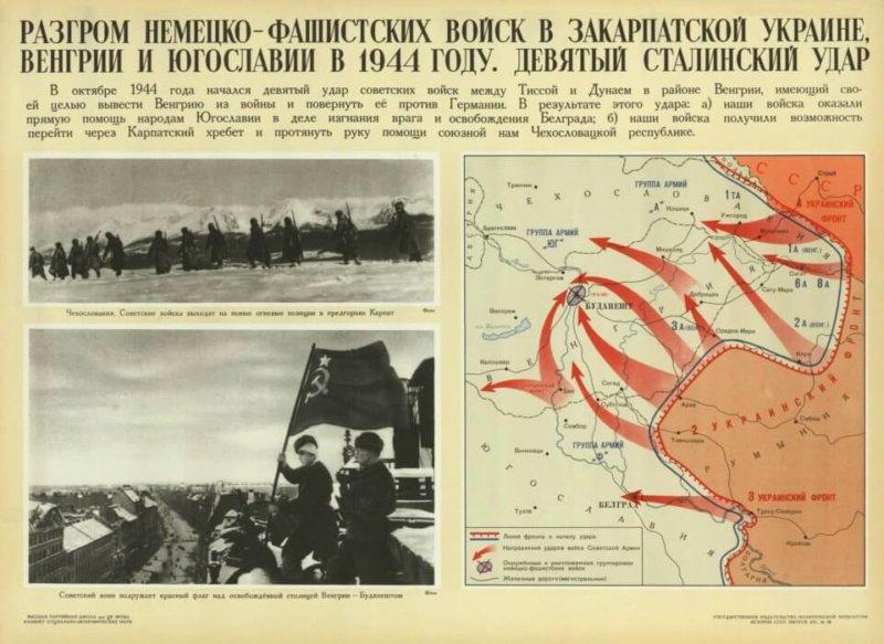 8 сентября 1944 года началась Восточно-Карпатская операция советских войск