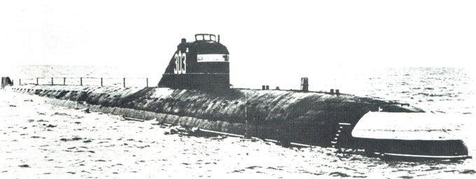8 сентября 1967 года авария на первой советской атомной подводной лодке К-3
