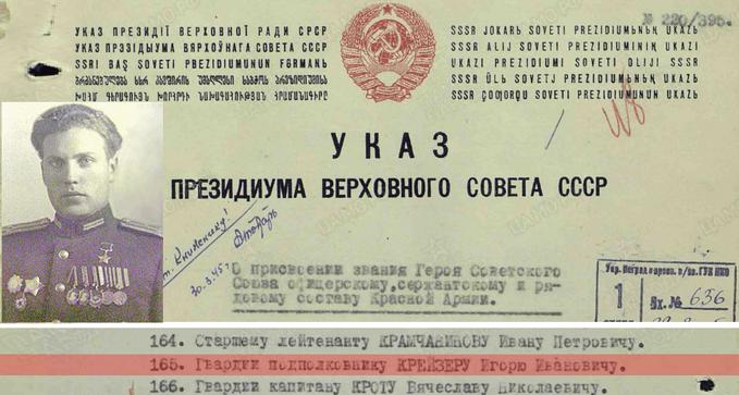 Игорь Иванович Крейзер