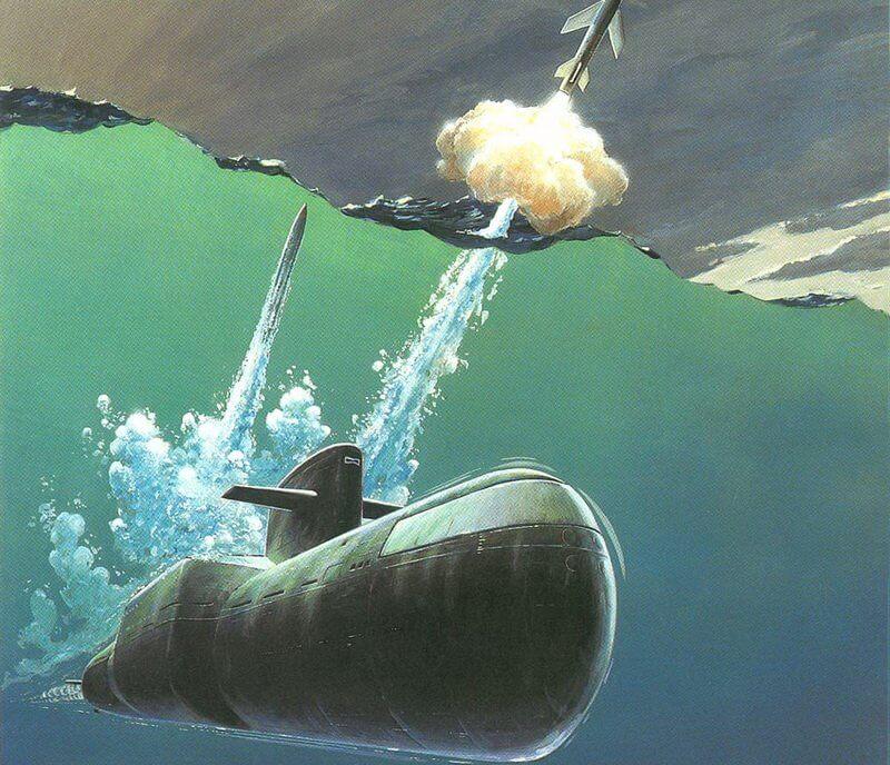 10 сентября 1960 года – впервые в СССР подлодка Северного флота произвела пуск баллистической ракеты из подводного положения