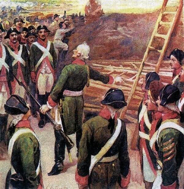 14 сентября 1773 года Русские войска