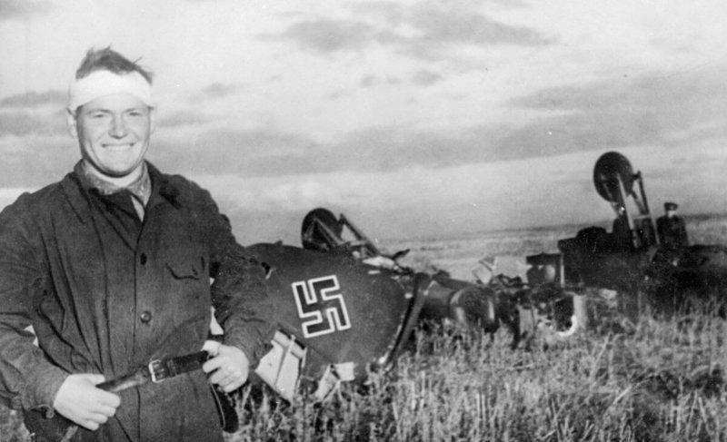 14 сентября 1942 года под Сталинградом сержант Чумбарев уничтожил FW-189