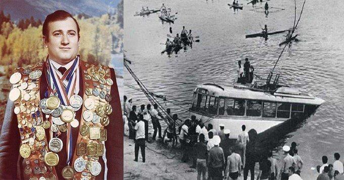 6 сентября 1976 года чемпион мира по подводному плаванию Шаварш Карапетян спас жизни 20 человек