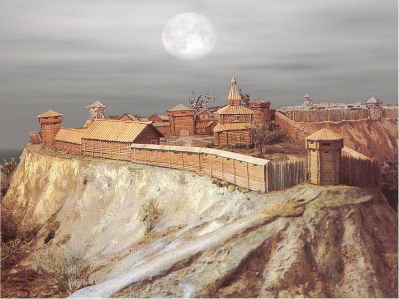 1604 - В Сибири закончено строительство томского острога