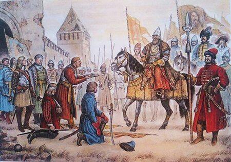 1654 - Русские войска отвоевали у Польши (Речи Посполитой) город Смоленск