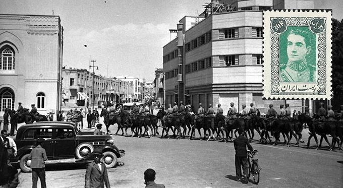 17 сентября 1941 года советские войска вступили в Тегеран