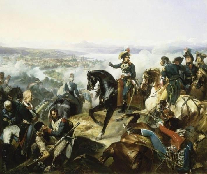 1799 - Одно из тяжелейших поражений русской армии в XVIII веке - Цюрихское сражение (25-26 сентября)