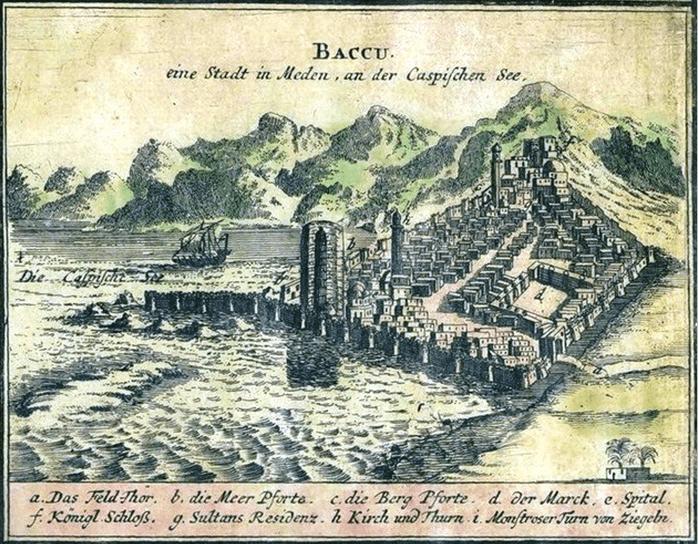 1806 - Русские войска под командованием генерала Булгакова без боя заняла Баку