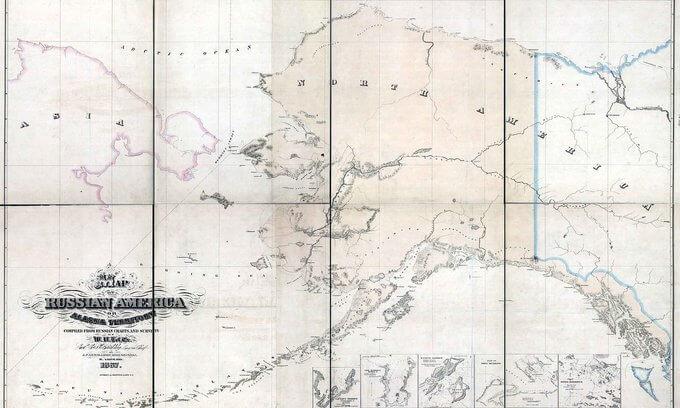 1821 - Россия подтвердила свои исключительные права на Аляску принят манифест о разграничении земельных владений между Россией и Америкой (Аляска наша)