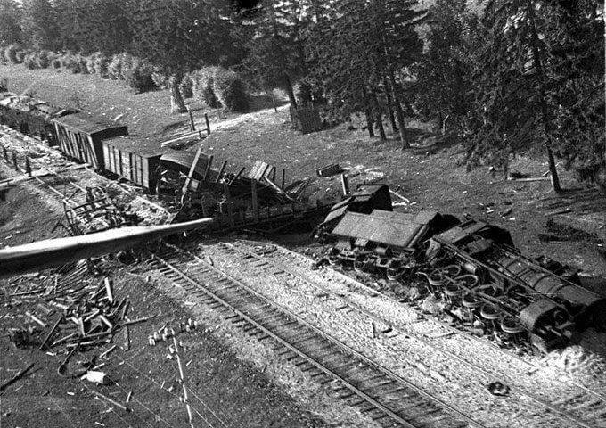 19 сентября 1943 года началась партизанская операция в немецком тылу по выводу из строя железнодорожных коммуникаций противника
