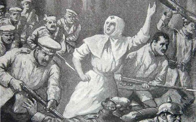 1915 - Подвиг сестры милосердия Риммы Ивановой.