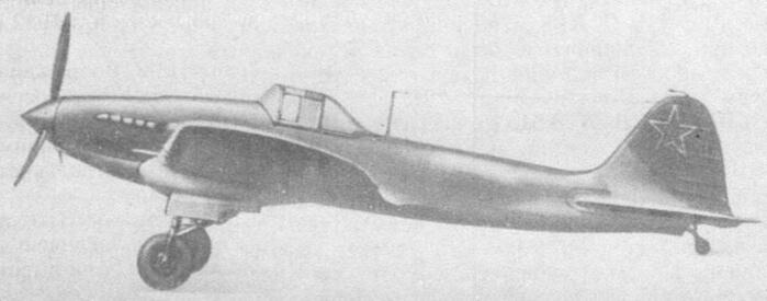 1939 - ЦКБ-55 (будущий легендарный штурмовик ИЛ-2) под управлением В.К. Коккинаки совершил первый испытательный полет