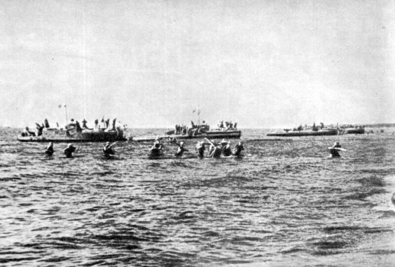 1941 - В рамках операции по деблокированию Ленинграда