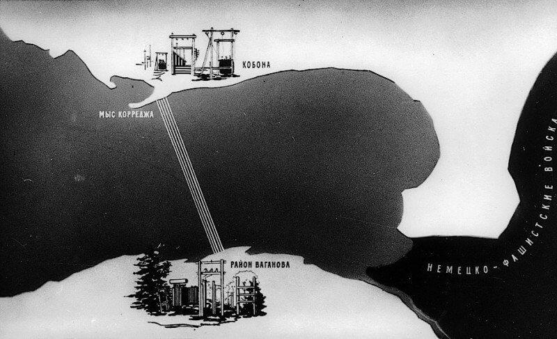 1942 - По приказу Сталина по дну Ладожского озера проложено пять силовых кабелей