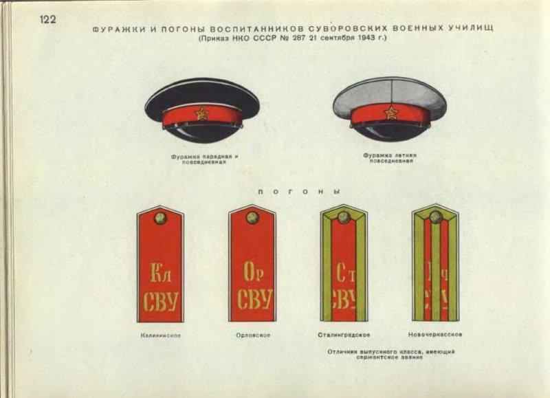 1943 - Приказом НКО СССР N 287 от 21 сентября 1943 г. введены погоны для суворовцев