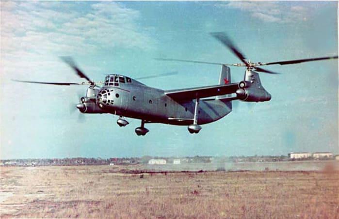 1961 - Установлен мировой рекорд скорости на винтокрыле
