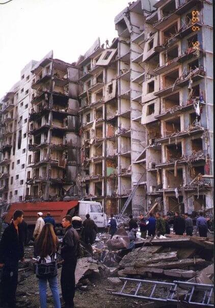 1999 - В Волгодонске террористами взорван жилой дом