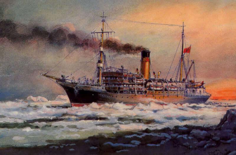20 сентября 1934 года советский ледокол «Литке»