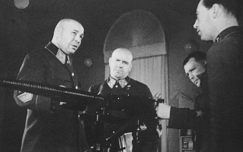 22 сентября 1939 года Комитетом Обороны на вооружение Красной Армии принят станковый пулемет конструктора В.А. Дегтярева (ДС) образца 1939 года. В июне 1940 года начался его серийный выпуск.