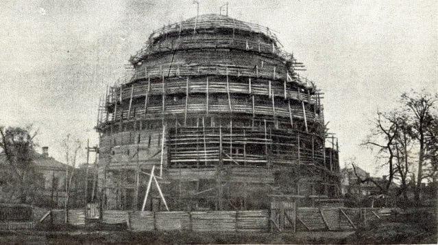 23 сентября 1928 года был заложен Московский Планетарий крупнейший в Европе