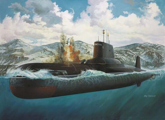 23 сентября 1980 года в Северодвинске была спущена на воду самая большая в мире подводная лодка