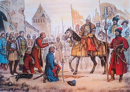 3 октября 1654 года во время русско-польской войны