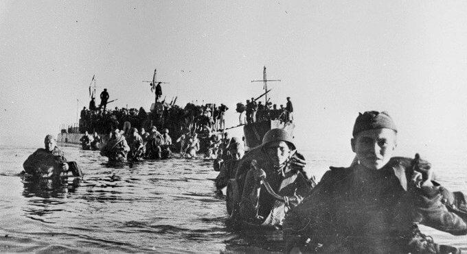 5 октября 1944 года войска Ленинградского фронта высадили десант на о