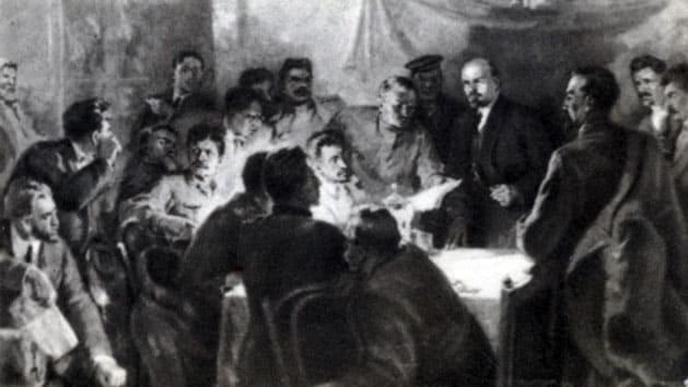 7 октября 1917 года большевики создали в Петрограде курсы подготовки руководителей вооруженного восстания на местах под видом курсов организаторов выборов в Учредительное Собрание